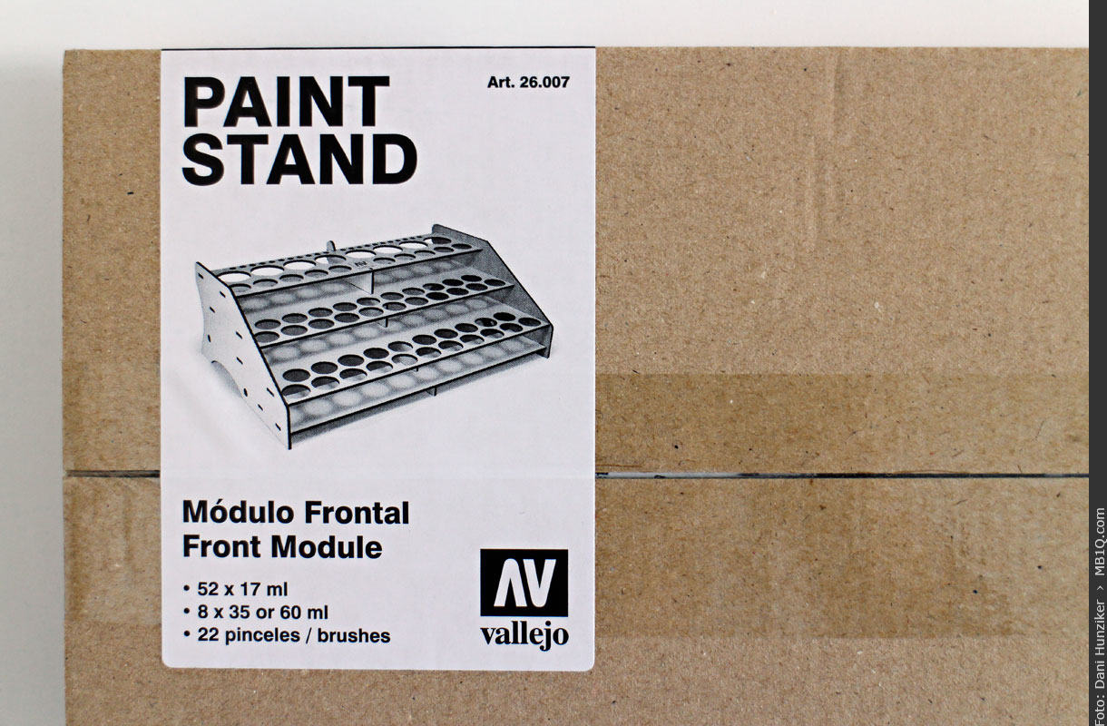 Paint Stand, Front Module, Vallejo 26.007