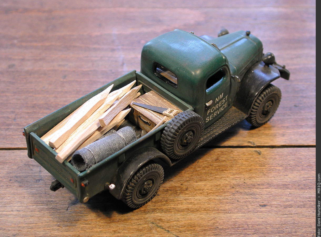 Matchbox «Models of Yesteryear»: 1946 Dodge Power Wagon WDX [YTC02-M]