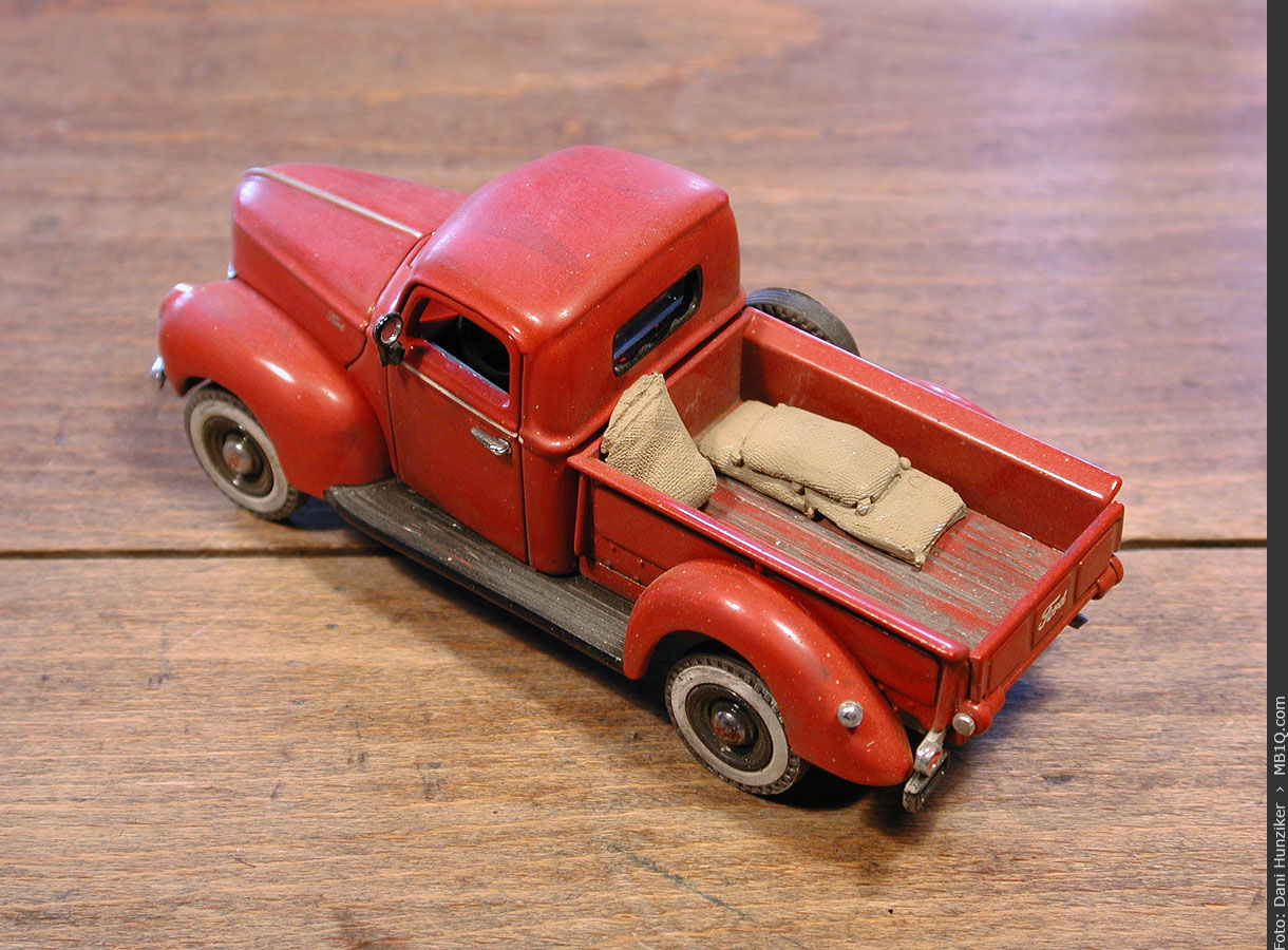 Matchbox «Models of Yesteryear»: 1940 Ford Pickup [YTC03-M]
