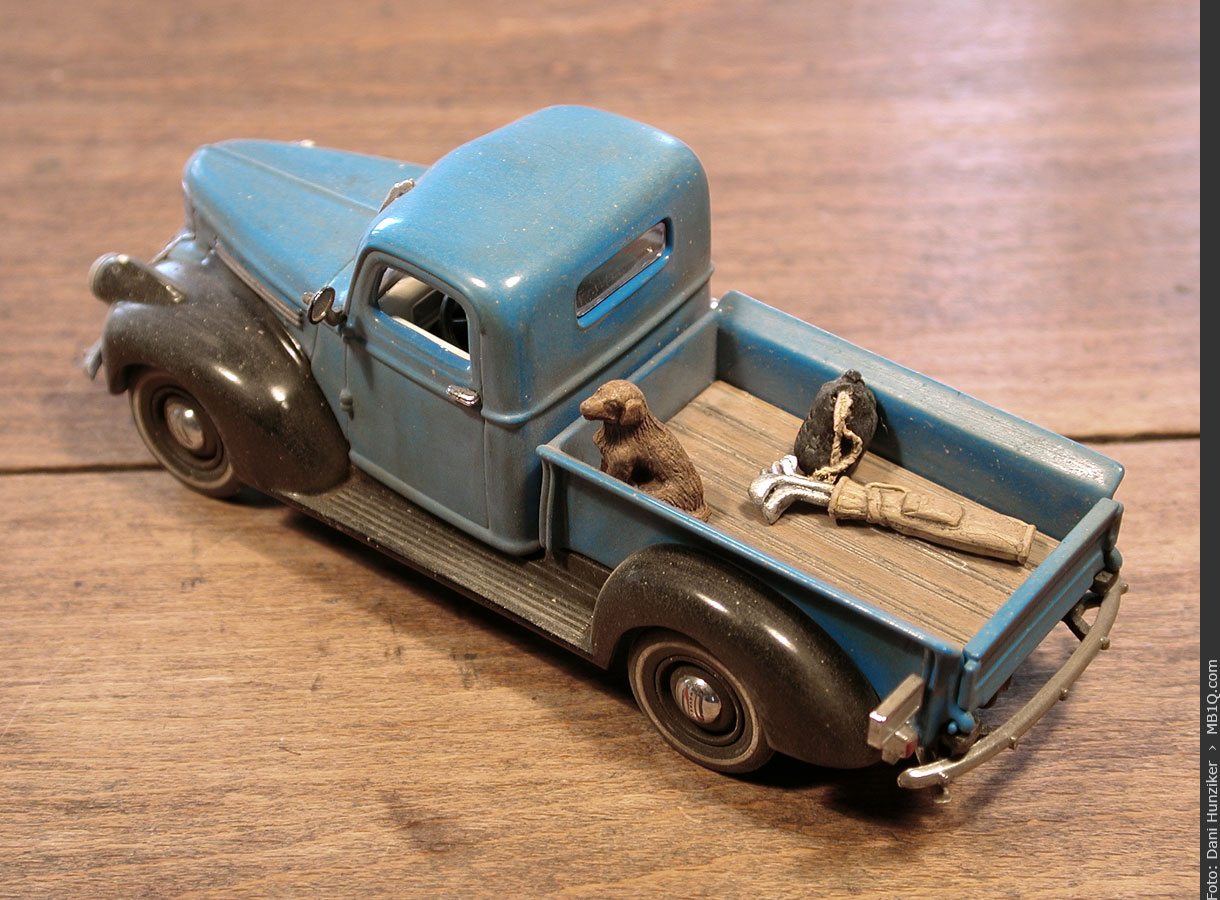 Matchbox «Models of Yesteryear»: 1941 Chevrolet Model AK 1/2 Ton Pickup [YTC01-M]